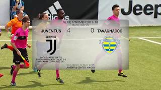 HIGHLIGHTS: Juventus Women vs Tavagnacco 4-0 | 12.05.2018