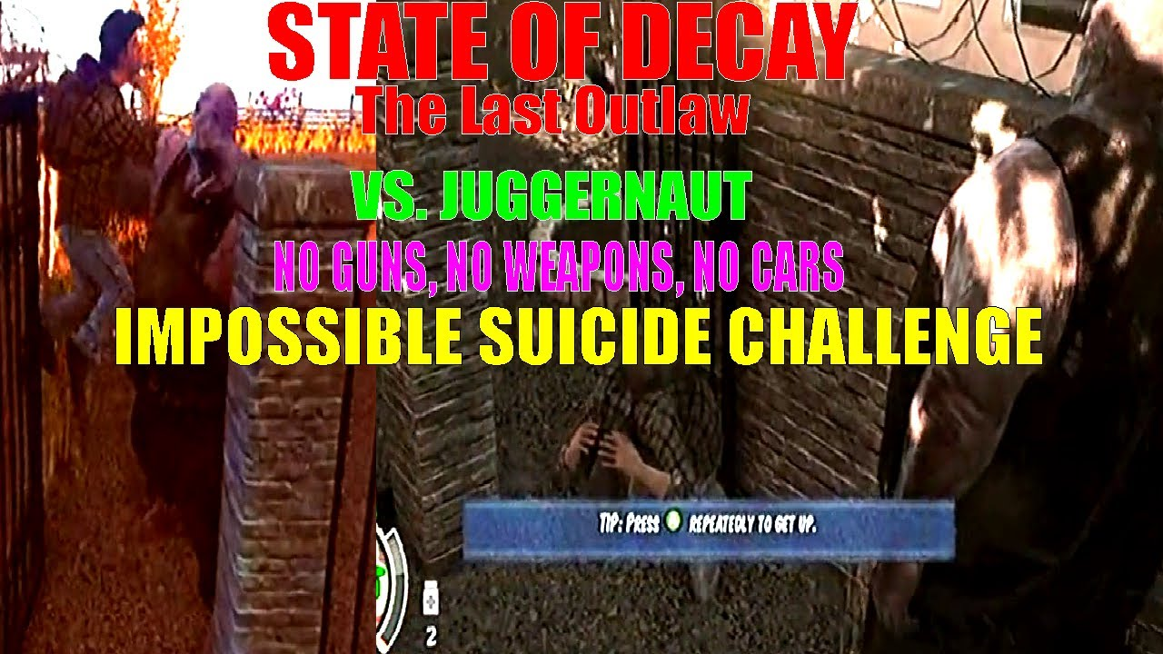 how to kill a juggernaut state of decay