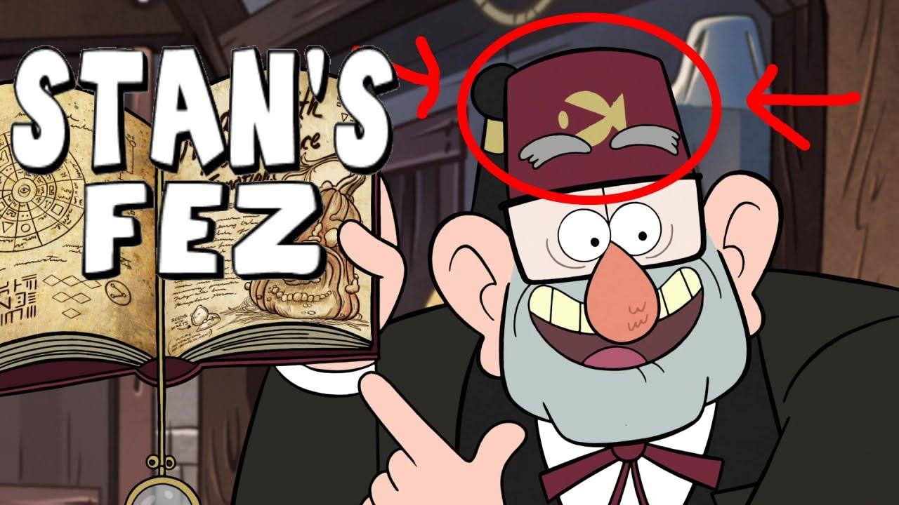Gravity Falls BIGGEST Secrets #10: Grunkle Stan's Fez