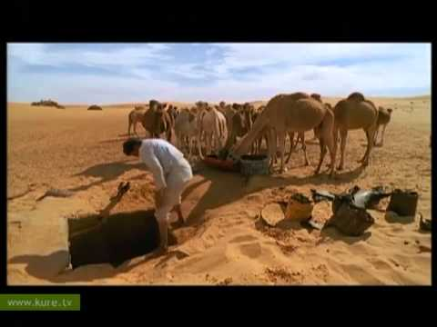 Susuz Deniz Libya Sahara Water From The Desert