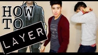 HOW TO: LAYER CLOTHING FASHION LOOKBOOK JAIRWOO