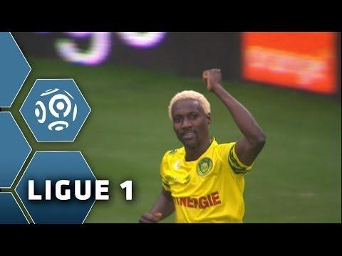 But Ismaël BANGOURA (89') - FC Nantes-FC Lorient (1-0) - 12/01/14