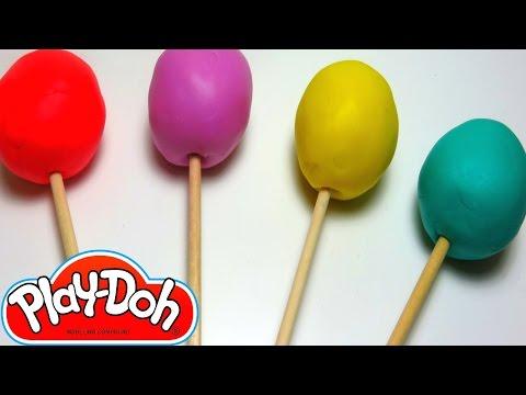 Play doh Lollipops Shopkins My Little Pony Monster Inc Dora's Grumpy Old Troll Paletas de plastilina