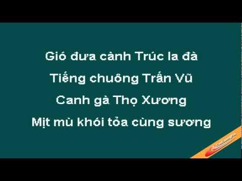 Ca Dao Tuc Ngu Viet Nam Karaoke - Xuan Mai - CaoCuongPro