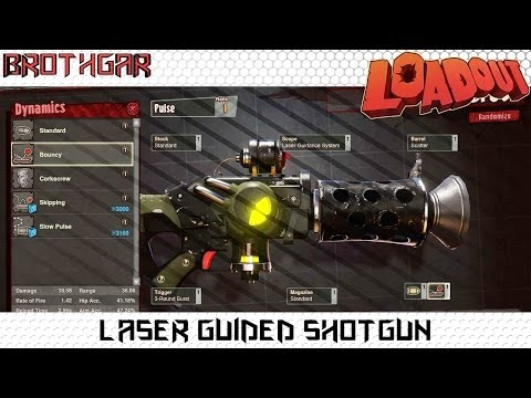 Laser Guided Shotgun Loadout Weapon Crafting