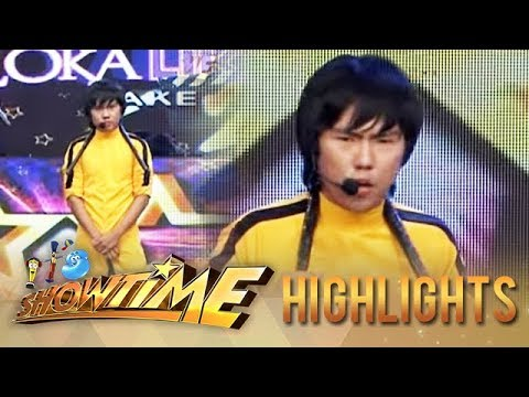 IT'S SHOWTIME Kalokalike Take 2 : Bruce Lee