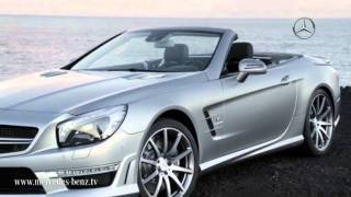 2013 Mercedes SL-Class unveiled videos
