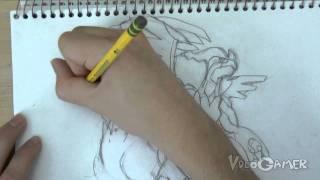 How To Draw Zekrom And Reshiram (Pokemon Black And White
