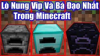Nếu Bạn Sở Hữu Lò Nung Vip Và Bá Đạo Nhất Trong Minecraft ? Noob Kiếm Được Nhiều Kim Cương Quá