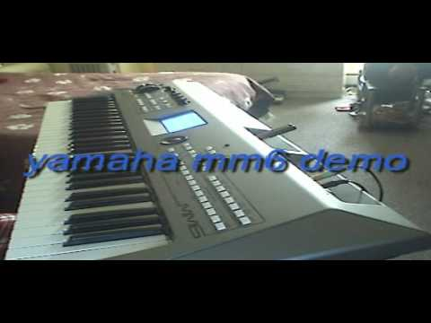 yamaha mm6 demo