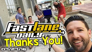 Fast Lane Daily Says Goodbye…for now - Fast Lane Daily . Fast Lane Daily