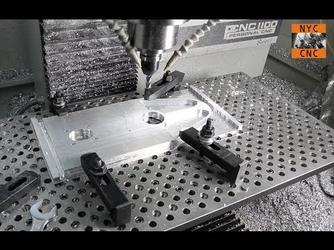 CNC At Home: Machining Aluminum with a Tormach PCNC1100