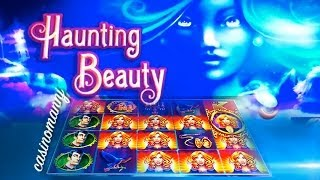 **NEW SLOT** Haunting Beauty Slot Machine Bonus 2014