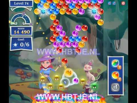 Bubble Witch Saga 2 level 74