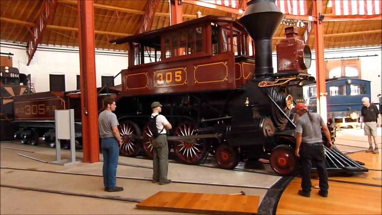 4 6 0 Camelback Locomotive 305 Returns To The B Amp O