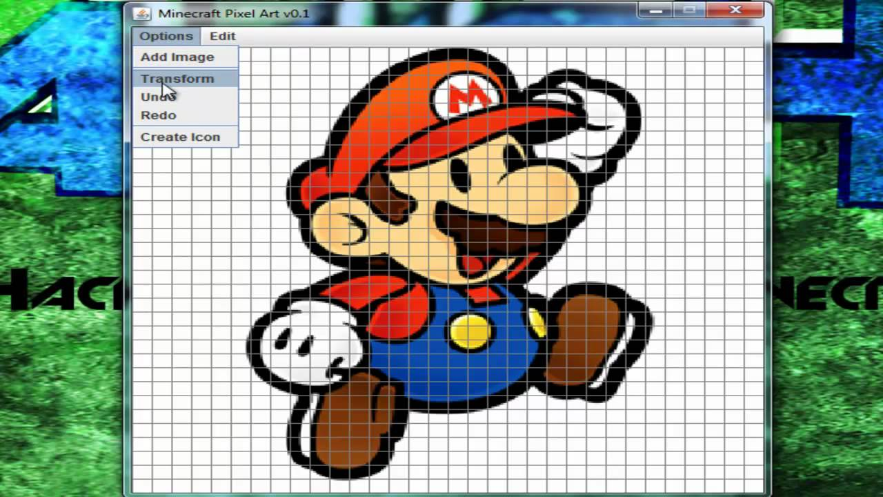 TutoFR Logiciel pour le pixel art Minecraft ! - YouTube