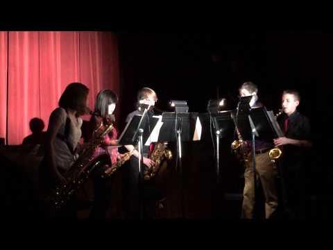 Gates Chili HS 2014 Prism Concert - Saxophone Performance