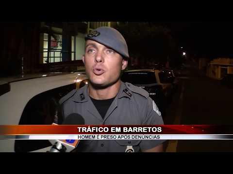 04/12/2018 - Jovem de 22 anos é preso pela equipe Canil da PM por tráfico de drogas em Barretos