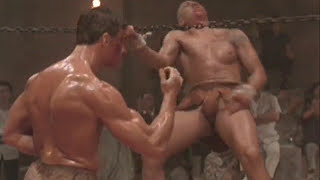Baddest Fight Scenes EVER! Kickboxer Part 2 Of 2