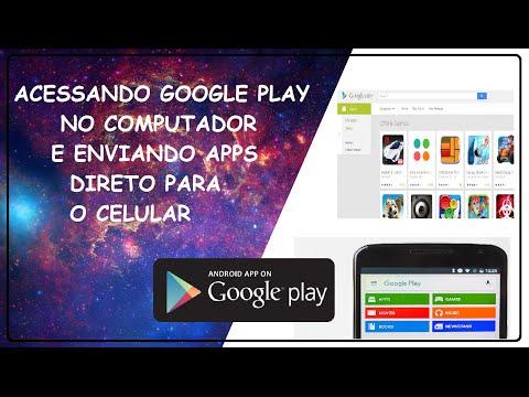 Como baixar apps do Google Play pelo pc para celular