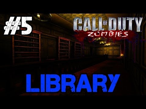Zombie Library Ep.5 - Call of Duty Custom Zombies (CoD Zombies) - World at War [PC HD]