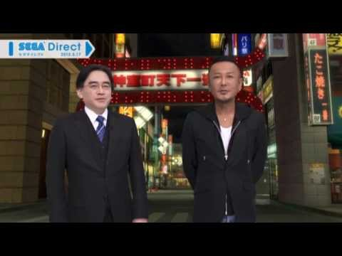 [Nintendo Direct JP] Yakuza 1 & 2 for Wii U - Info Presentation