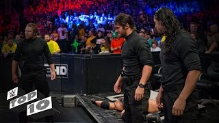 Ringside Invasions: WWE Top 10