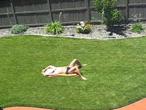 Caught sunbathing pic 54