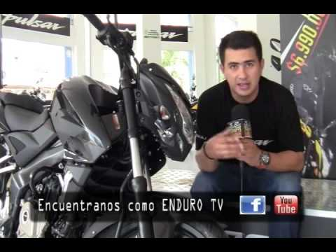 PULSAR 200 NS POR ENDURO TV