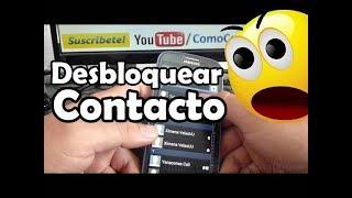 Como Desbloquear Un Contacto En El Samsung Galaxy S3 Español