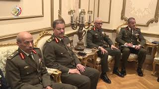 الفريق أول محمد زكي يلتقي وزير دفاع الصين