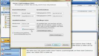 Einrichten Eines E-Mail-Kontos In Outlook 2003