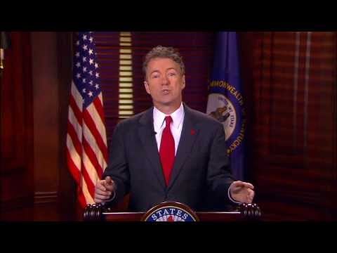 Sen. Rand Paul Delivers Response to President's State of the Union Address
