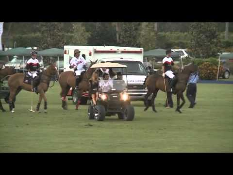Polo: Alegria vs  Crab Orchard - 2014 U.S Open Semi-Finals