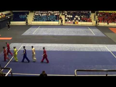 15TH EWC 2014 - Opening Ceremony (Performance by RUS & UKR Wushu Team)