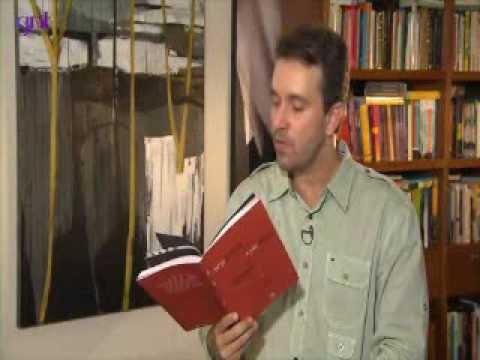 Felipe Pena, no programa Saia Justa, do GNT