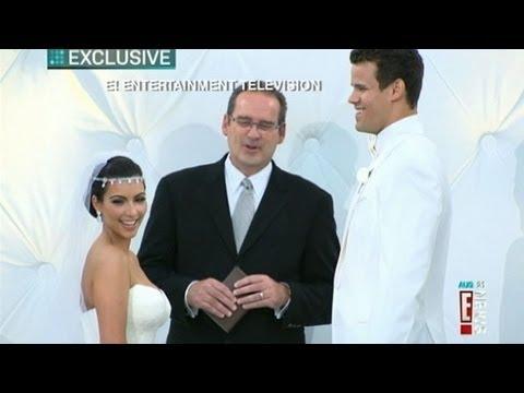 Kim Kardashian Wedding Details; Lindsay Lohan, Serena Williams Watch Star Marry Kris Humphries