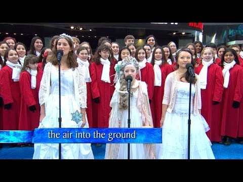 'GMA''s Epic 'Frozen' Sing-a-long, Live!