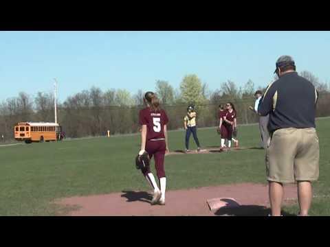 NCCS - Lake Placid Softball 5-3-13