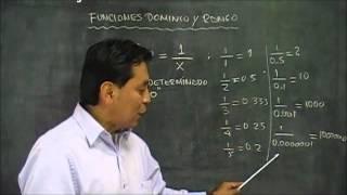 Funciones Dominio Y Rango, Como Calcular El Dominio Y El