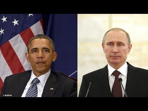 Crisis de Crimea: Obama amenaza, Putin pide discutir una solución diplomática