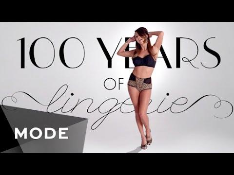 Еволуцијата на женската долна облека во последните 100 години
