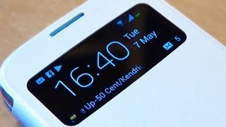Official Samsung Galaxy S4 IV Flip Cover Review