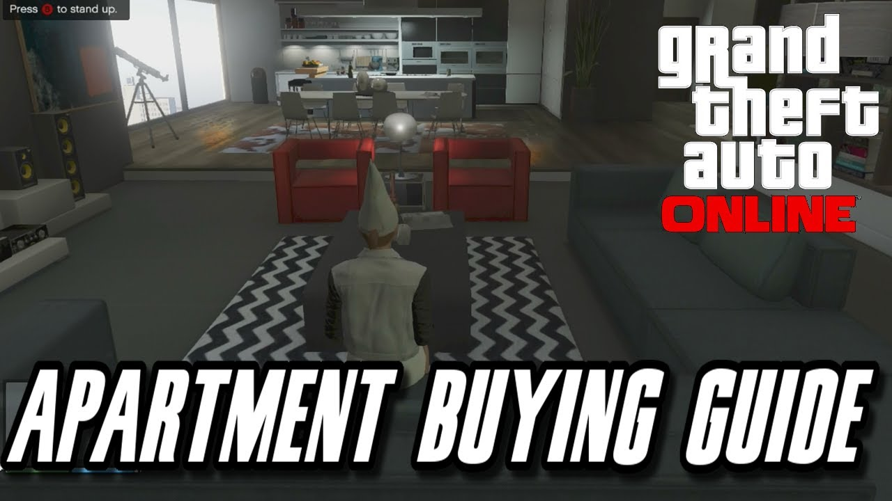 Gta 5 high life update new apartments buying guide and for Designer apartment gta 5
