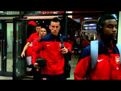 Arsenal 1 0 Tottenham Behind the scenes