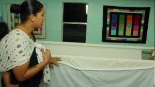 Longarm Quilting- How To Load Quilt With Magnets