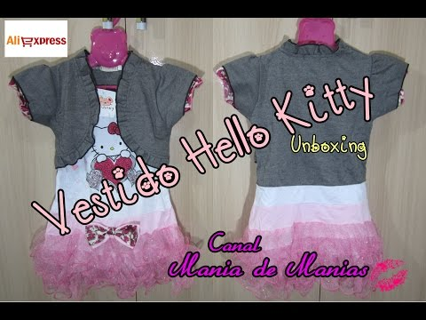 ❀ Unboxing #17 ❀Vestido Hello Kitty ❀AliExpress❀