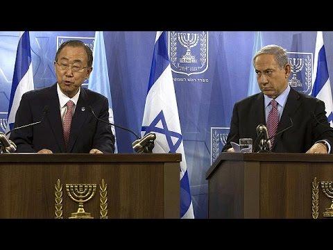 Ban Ki-Moon en Israël :