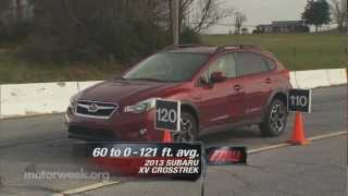 Road Test: 2013 Subaru XV Crosstrek videos