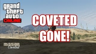 GTA V Online Coveted Gone! Missing Missions After